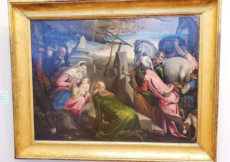 エルミタージュ美術館内に飾られている絵画