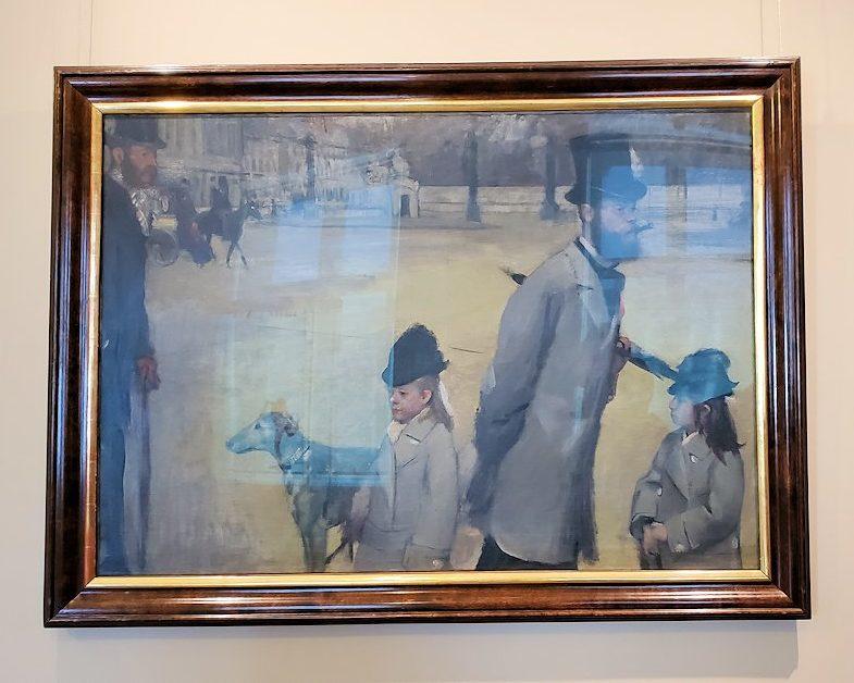 『コンコルド広場』 (Place de la Concorde) by エドガー・ドガ(Edgar Degas)