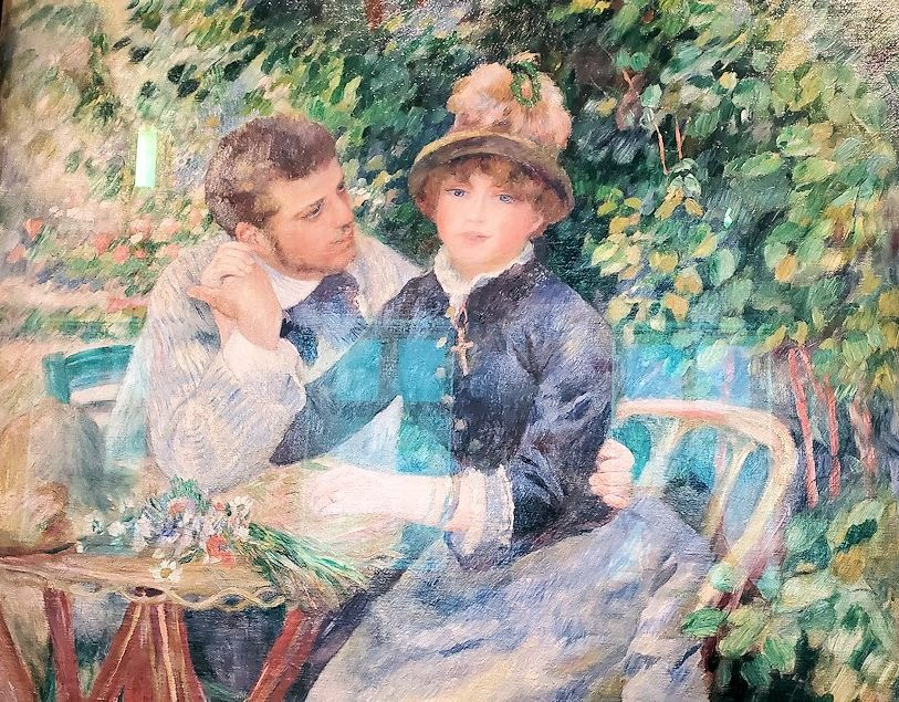 『庭園にて』 (In the Garden) by ピエール・オーギュスト・ルノワール(Pierre-Auguste Renoir)-2