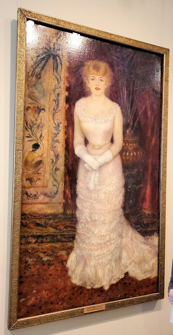 『ジャンヌ・サマリーの立像』 (Portrait of the actress Jeanne Samary) by ピエール・オーギュスト・ルノワール(Pierre-Auguste Renoir)