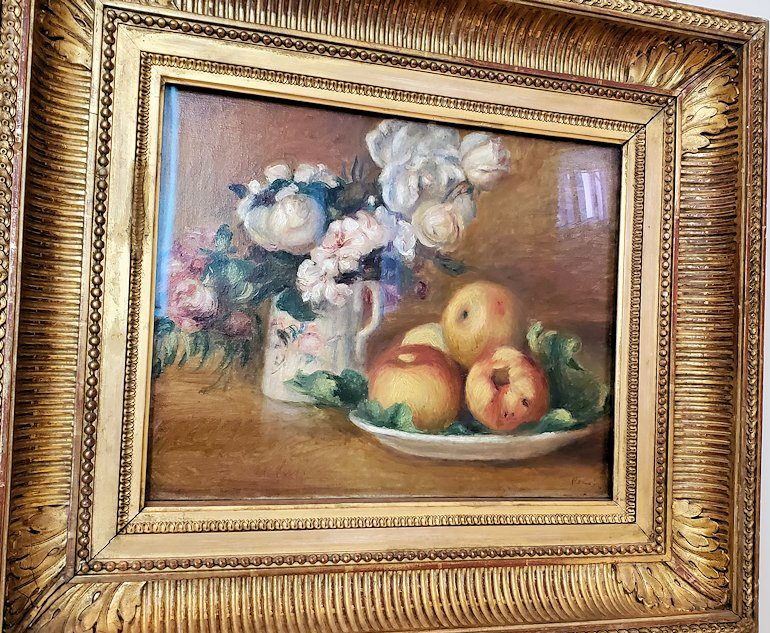 『りんごと花』 (Apples and Flowers) by ピエール・オーギュスト・ルノワール(Pierre-Auguste Renoir)