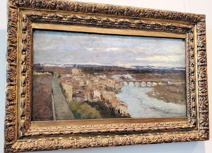 『ポン=デュ=シャトーの風景』 (View of Pont-du-Chateau) by アルベール・ルブール