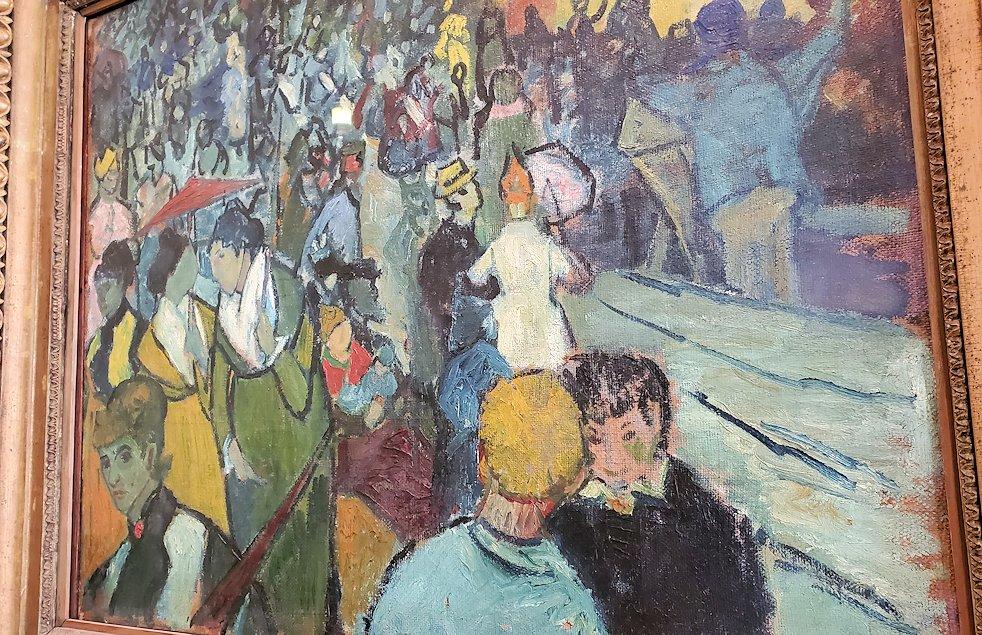 『アルル競技場の観衆』 (The Arena at Arles) by フィンセント・ファン・ゴッホ(Vincent van Gogh)-2
