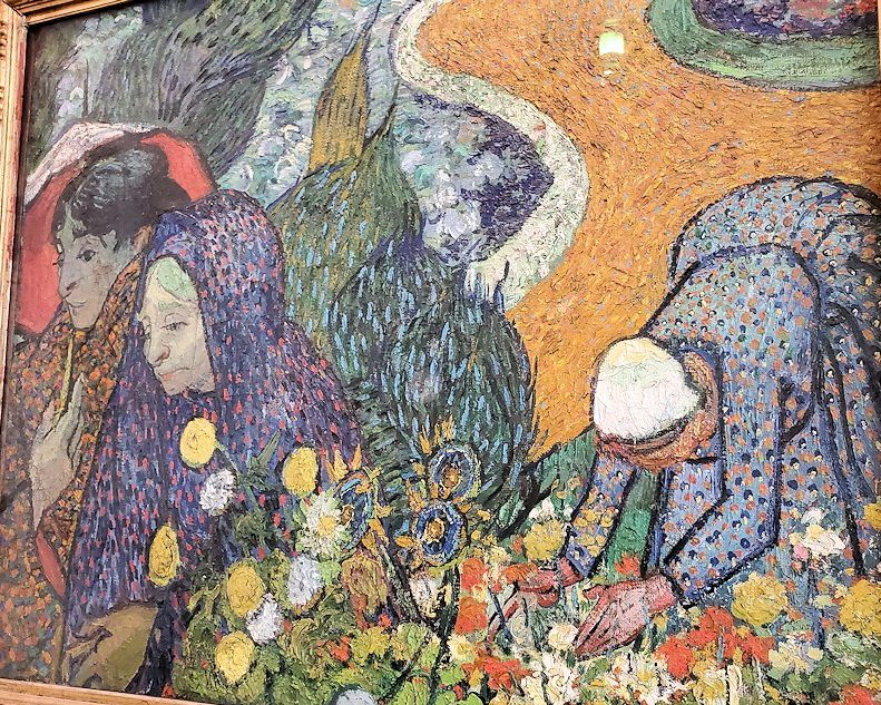 『エッテンの庭の思い出(アルルの女性)』 (Ladies of Arles (Memories of the Garden at Etten)) by フィンセント・ファン・ゴッホ(Vincent van Gogh)-2
