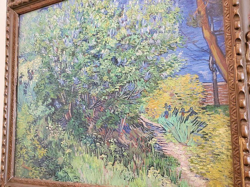 『ライラックの潅木』 (Lilac Bush) by フィンセント・ファン・ゴッホ(Vincent van Gogh)-2