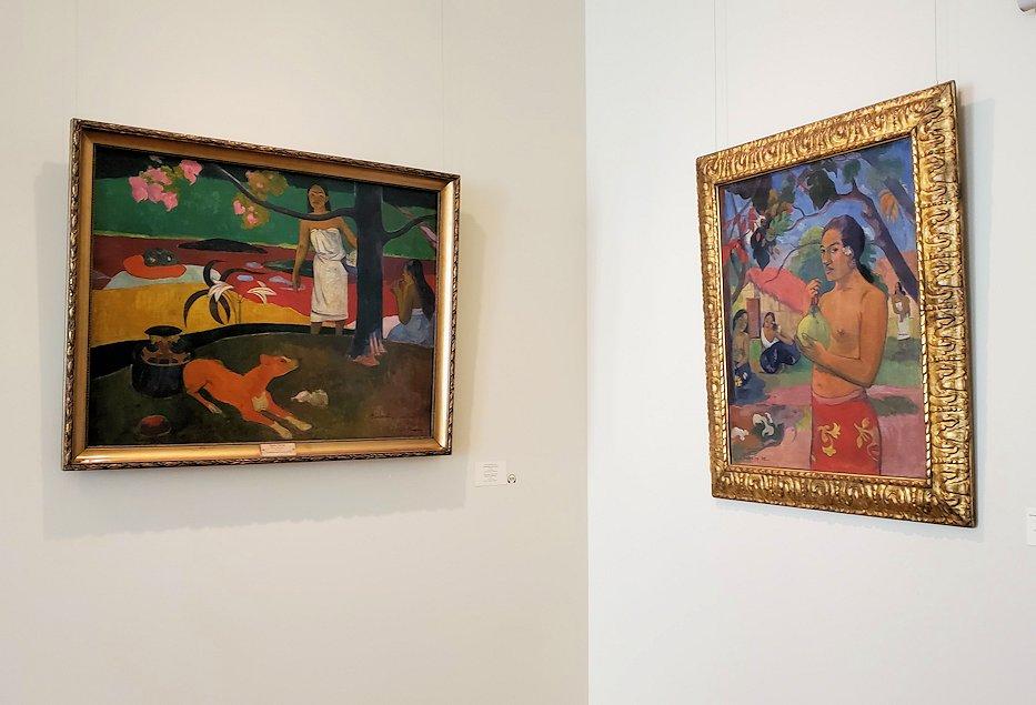 ポール・ゴーギャン(Paul Gauguin)の作品-1