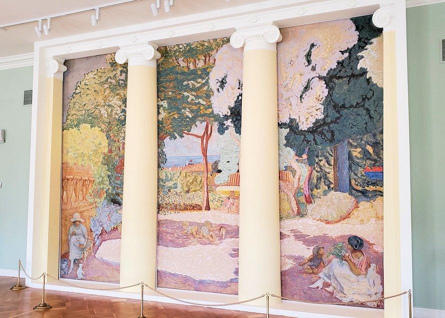 『地中海、3連絵』 (Mediterranean. Triptych) by ピエール・ボナール(Pierre Bonnard)