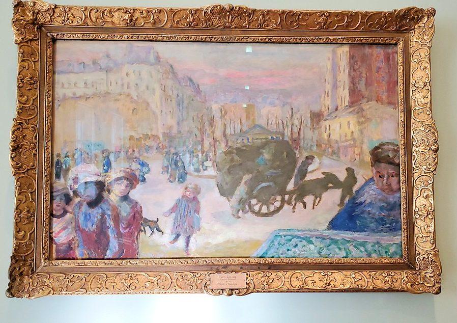 『パリの朝』 (Morning in Paris) by ピエール・ボナール(Pierre Bonnard)