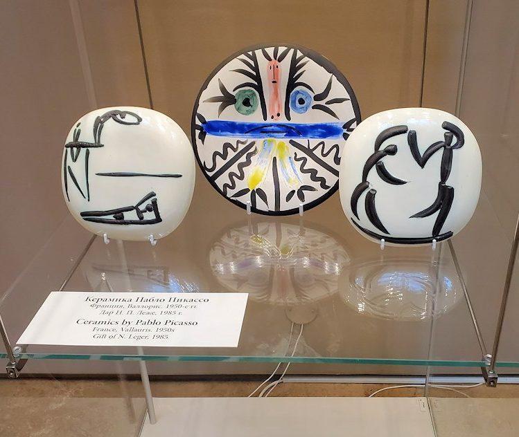 エルミタージュ新館にある「パブロ・ピカソの間」の彫刻作品-1