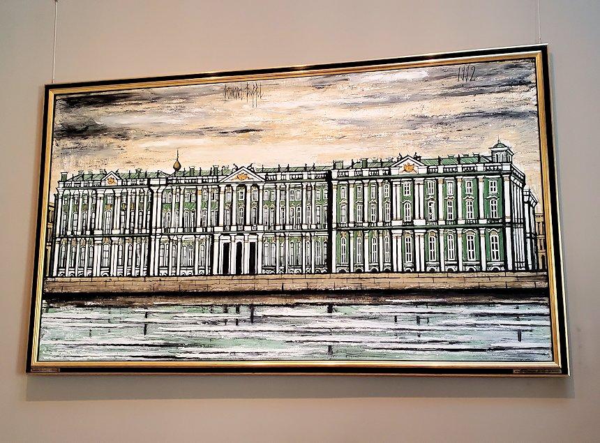 『エルミタージュ美術館』 (Санкт-Петербург, Эрмитаж) by ベルナール・ビュフェ(Bernard Buffet)