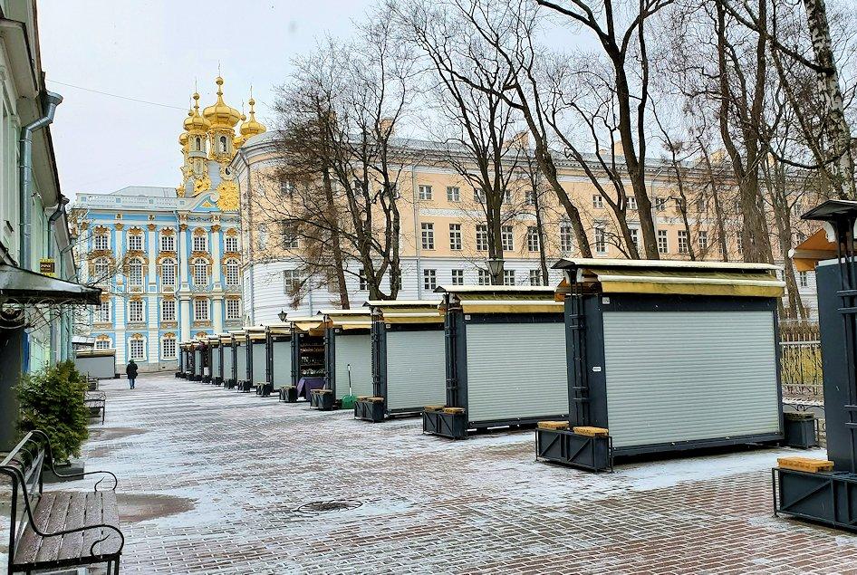 サンクトペテルブルク近郊にあるエカテリーナ宮殿に到着-2
