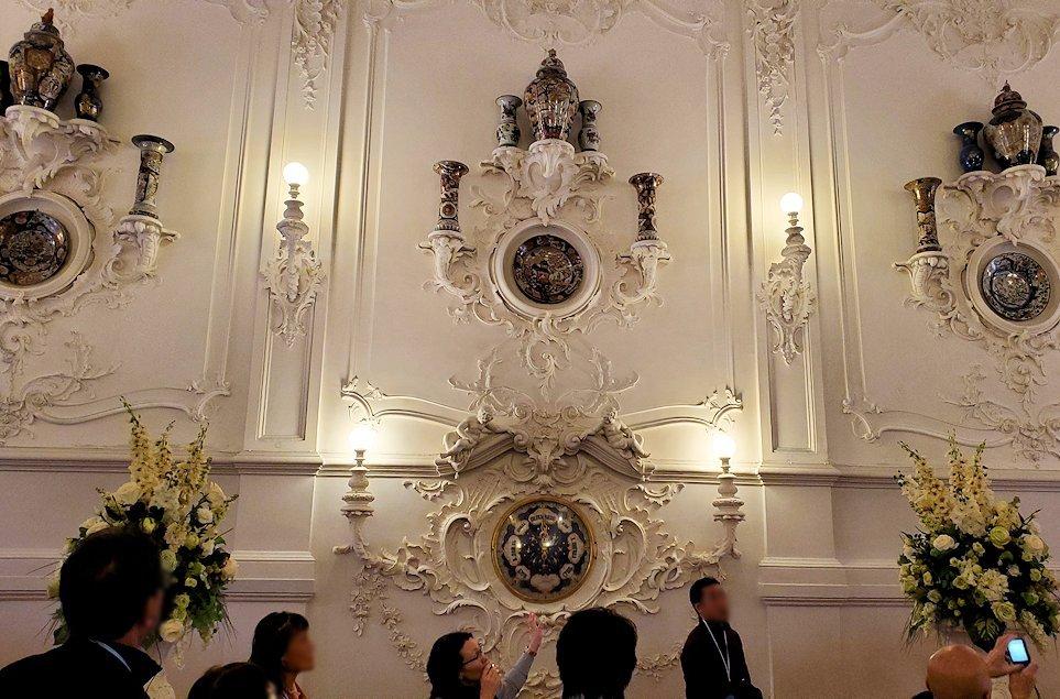 サンクトペテルブルクにあるエカテリーナ宮殿内