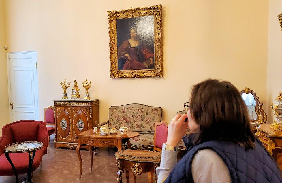 エカテリーナ宮殿の「エカテリーナ2世の衣装部屋」-2