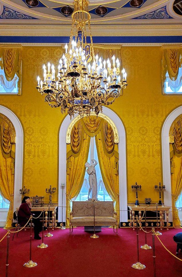 エカテリーナ宮殿の「リオンの間」