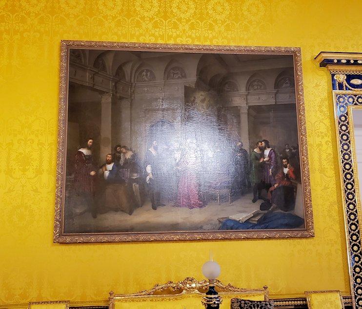 エカテリーナ宮殿の「リオンの間」-3