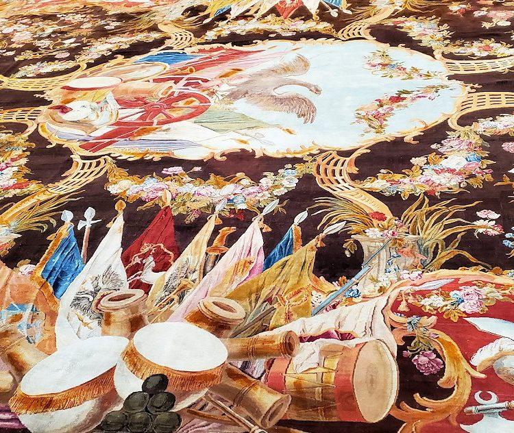 エカテリーナ宮殿の「アラベスクの間」の絨毯