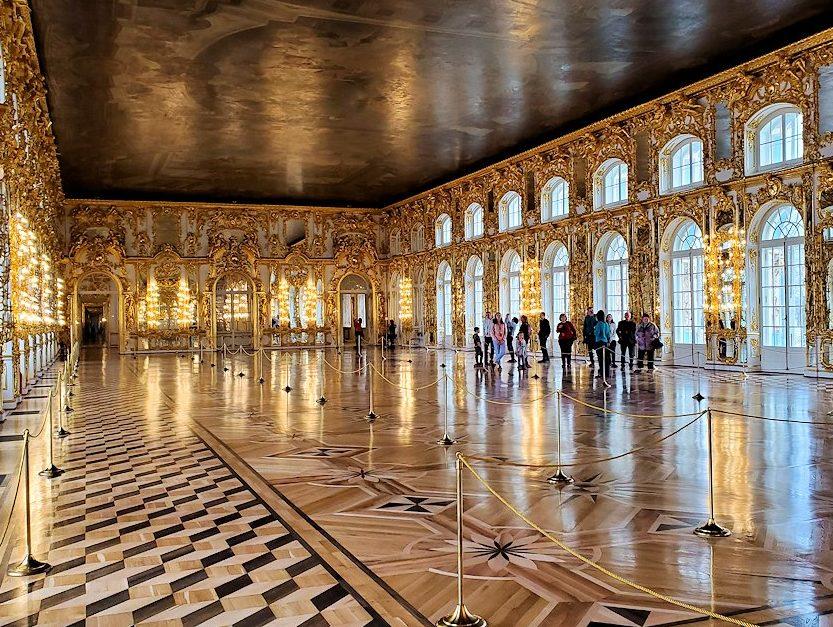 エカテリーナ宮殿の大広間に戻る