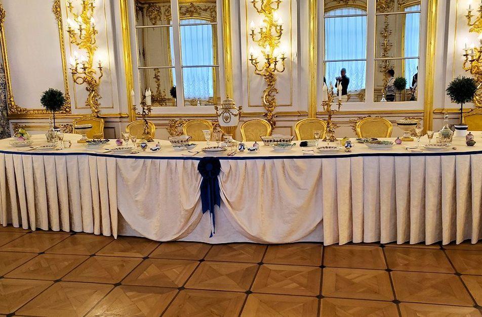 エカテリーナ宮殿の「騎士の食堂の間」