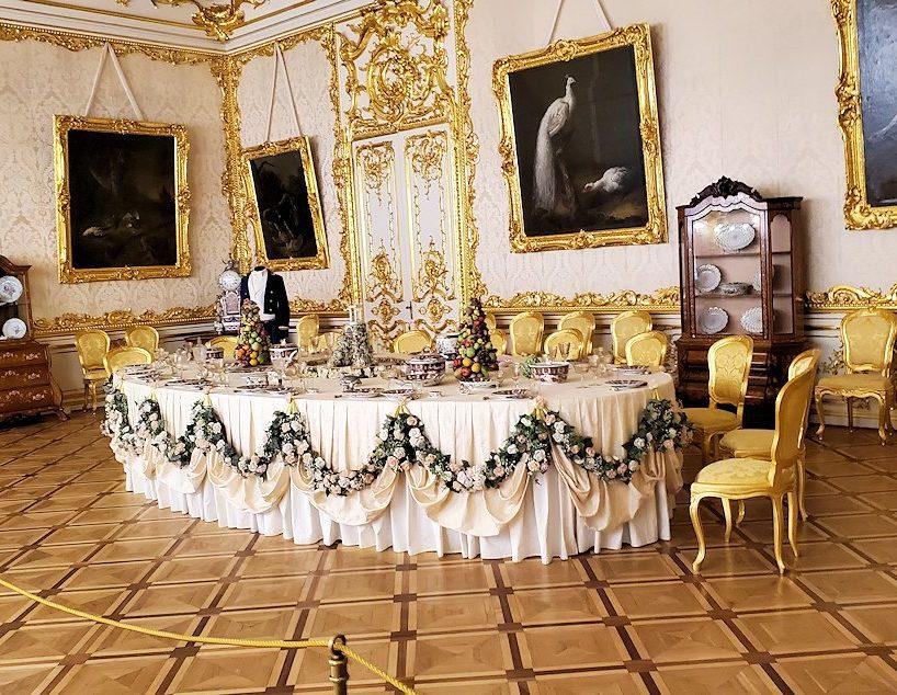 エカテリーナ宮殿の「白の主食堂」