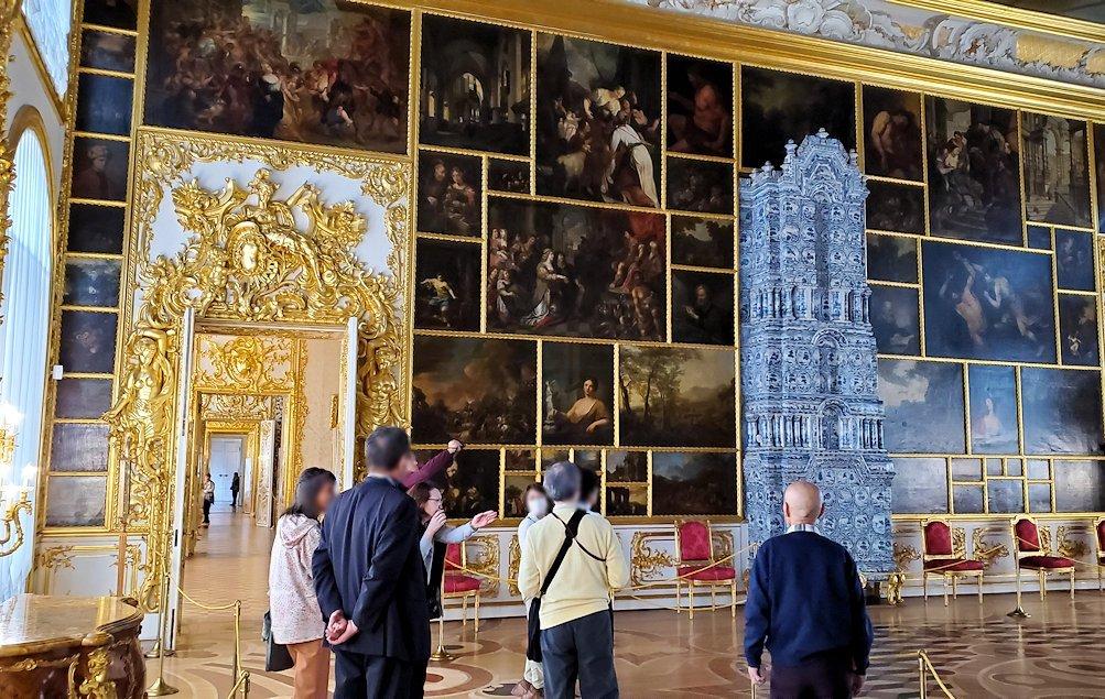 エカテリーナ宮殿の「絵画の間」