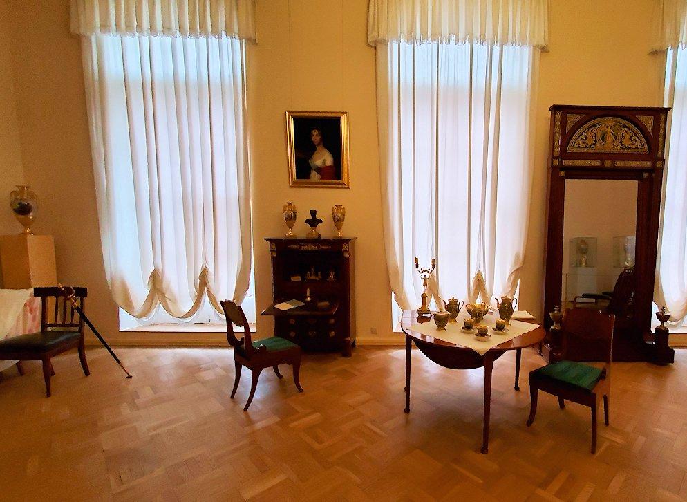 エカテリーナ宮殿の2階にあった部屋の内装