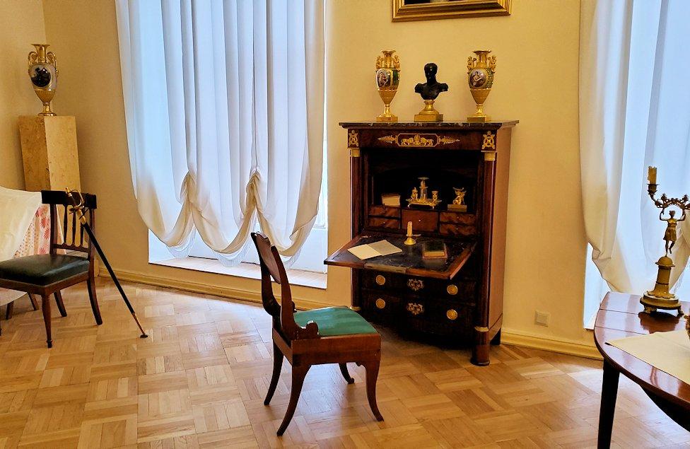エカテリーナ宮殿の2階にあった部屋の内装-1