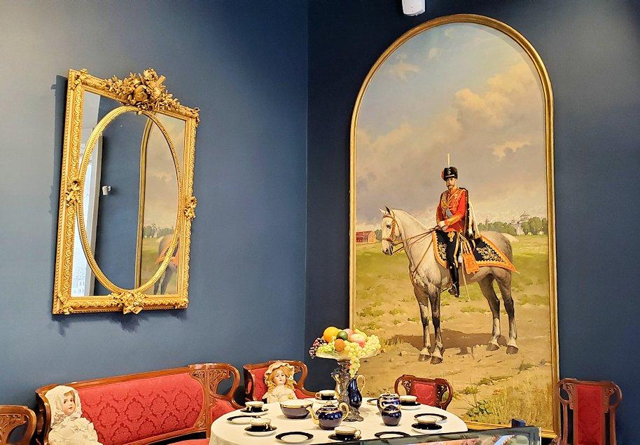 エカテリーナ宮殿でニコライ二世一家が過ごしていた部屋-1