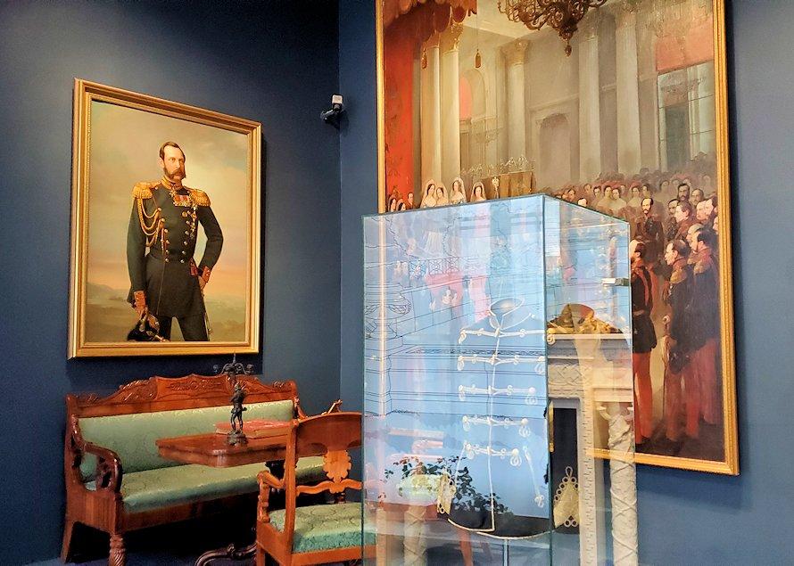 エカテリーナ宮殿でニコライ二世一家が過ごしていた部屋-2