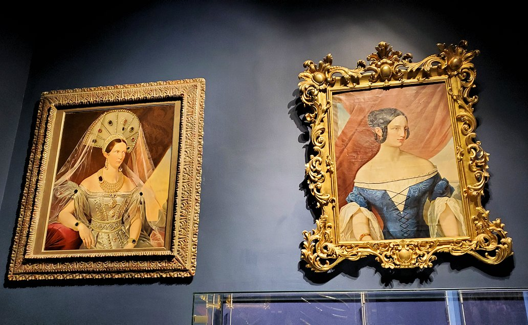 ロシア帝国の皇女が描かれている絵画