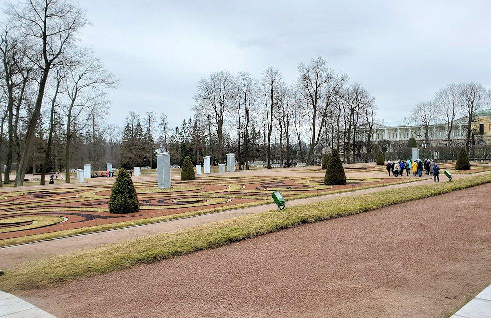 エカテリーナ宮殿の庭