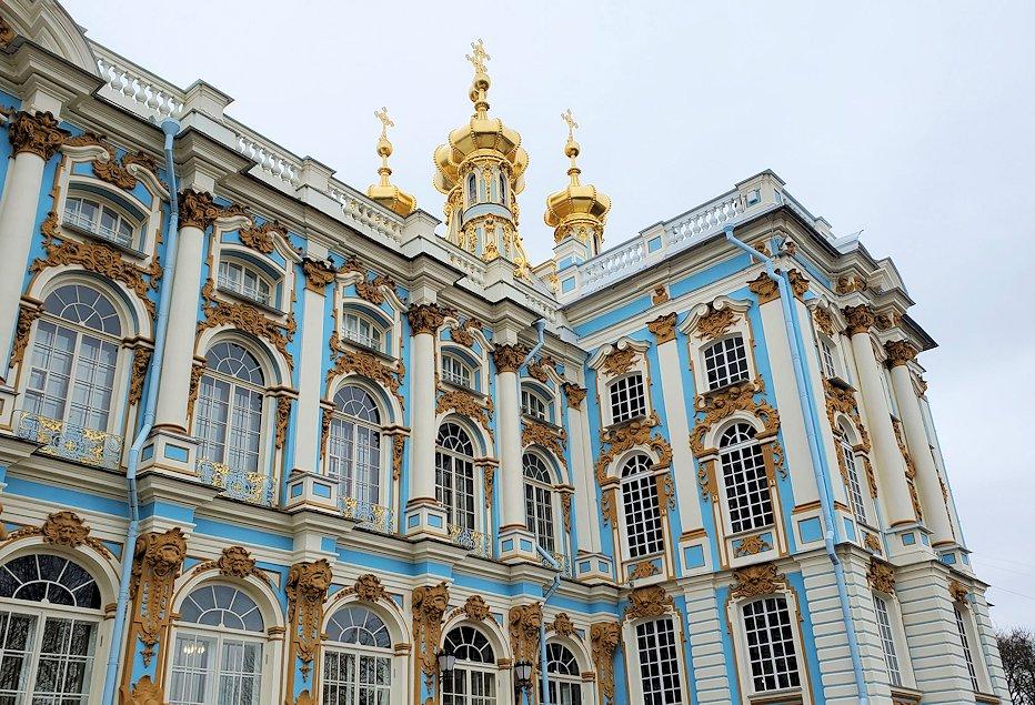 エカテリーナ宮殿のロシア正教会の部分