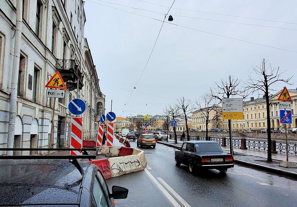 サンクトペテルブルク市内にあるファベルジェ博物館を訪問