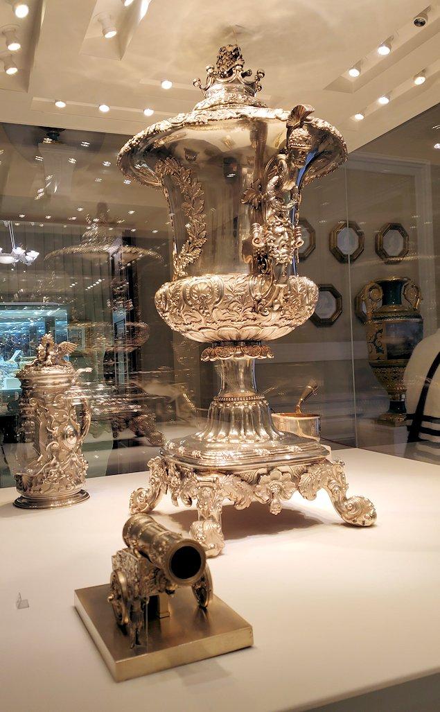 ファベルジェ博物館に置かれていた高級金細工工芸品-1