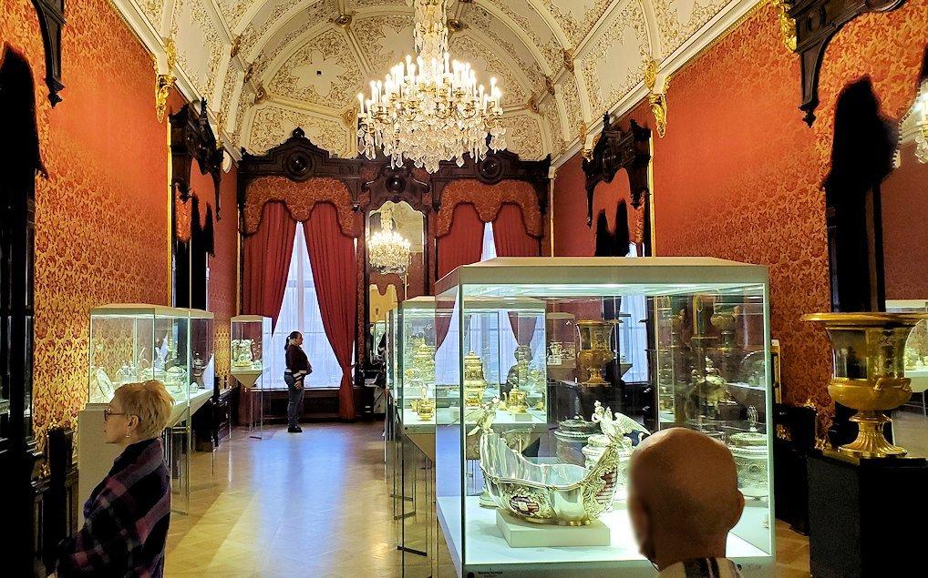 ファベルジェ博物館に置かれていた高級金細工