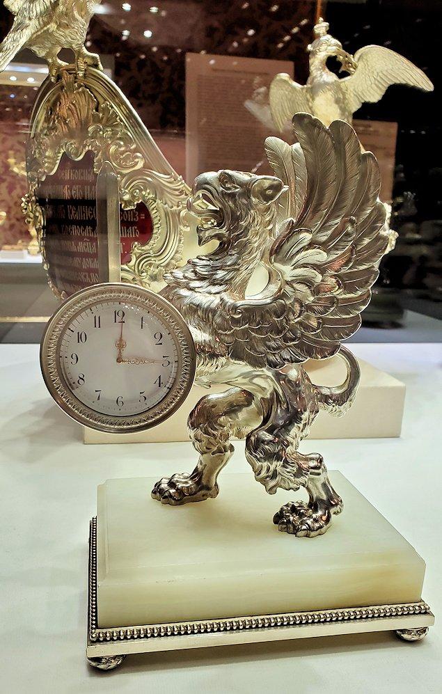 ファベルジェ博物館に置かれていた高級金細工製品の器-2