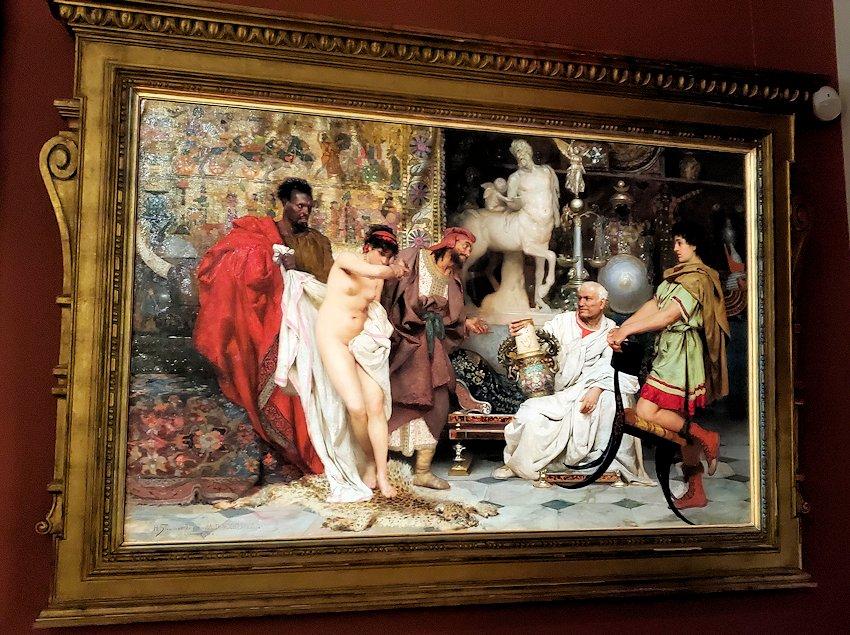 ファベルジェ博物館に展示されている絵画ルーム-1