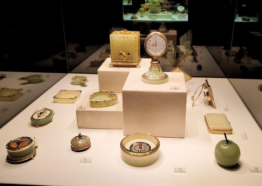 ファベルジェ博物館にある絵画ルームに展示されている作品