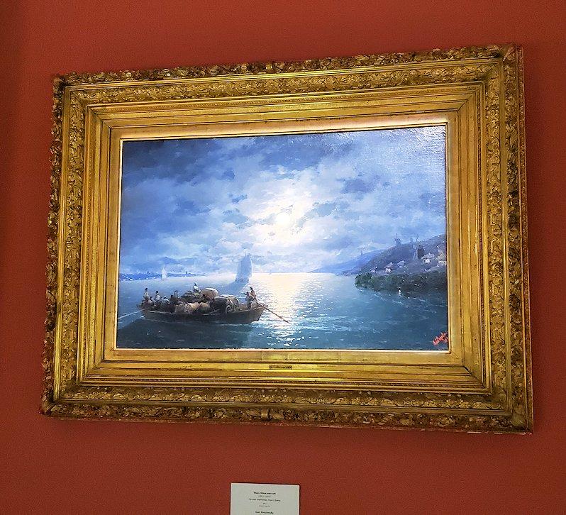 ファベルジェ博物館にある絵画ルームに展示されている絵画-2
