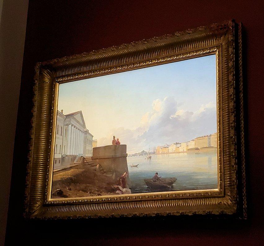 ファベルジェ博物館にある絵画ルームに展示されている絵画作品