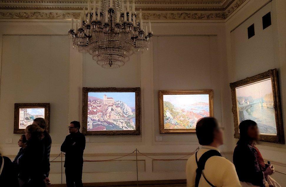ファベルジュ博物館で再び絵画ルームに入る