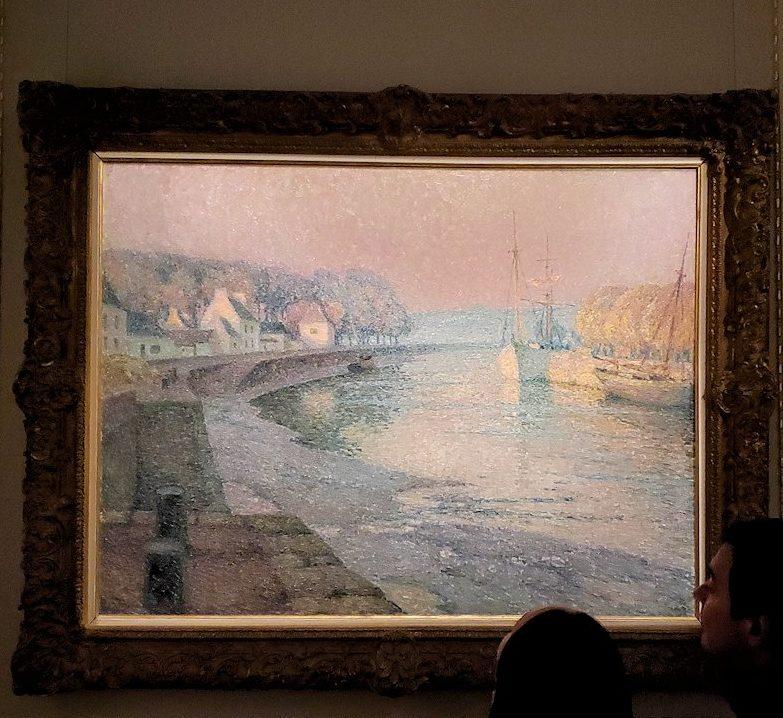ファベルジュ博物館で再び絵画ルームに飾られている絵画