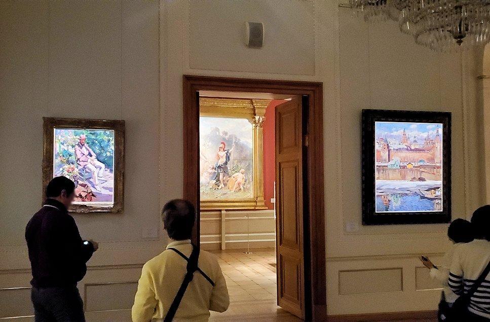 ファベルジュ博物館で再び絵画ルームに飾られている絵画-1
