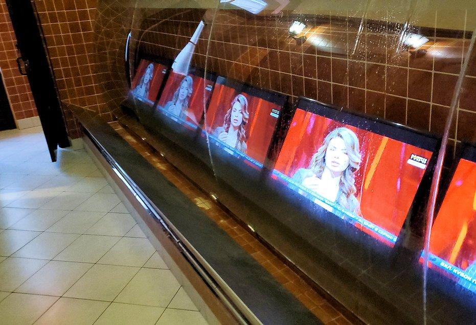 サンクトペテルブルク市内の【スタルゴロド】の男子トイレ