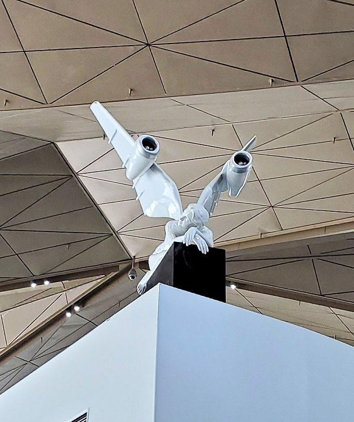 サンクトペテルブルクのプルコヴォ空港内の様子-1