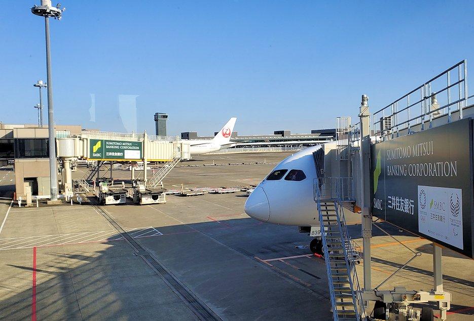 モスクワから成田空港に無事到着する-1