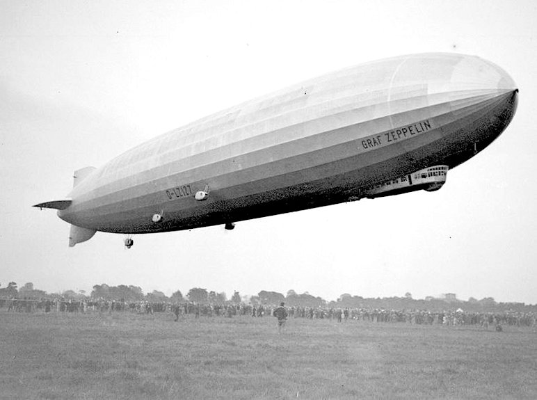 LZ 127 グラーフ・ツェッペリン号(Graf Zeppelin)