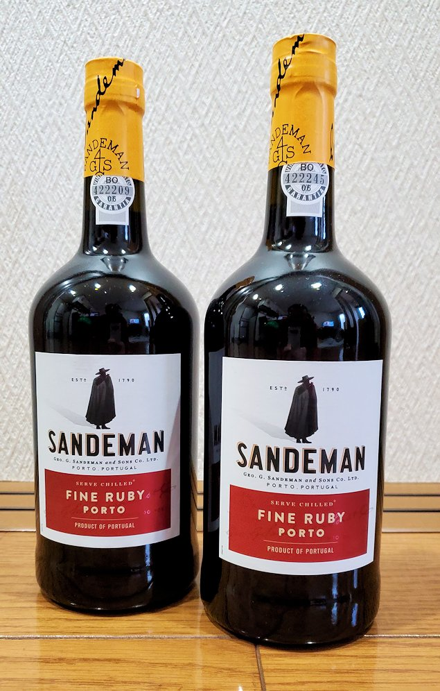 サンデマン ルビーポート 750ml ポート ワイン