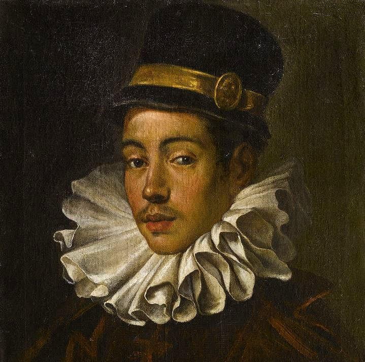 天正遣欧少年使節の伊東マンショがイタリアで描いてもらった肖像画