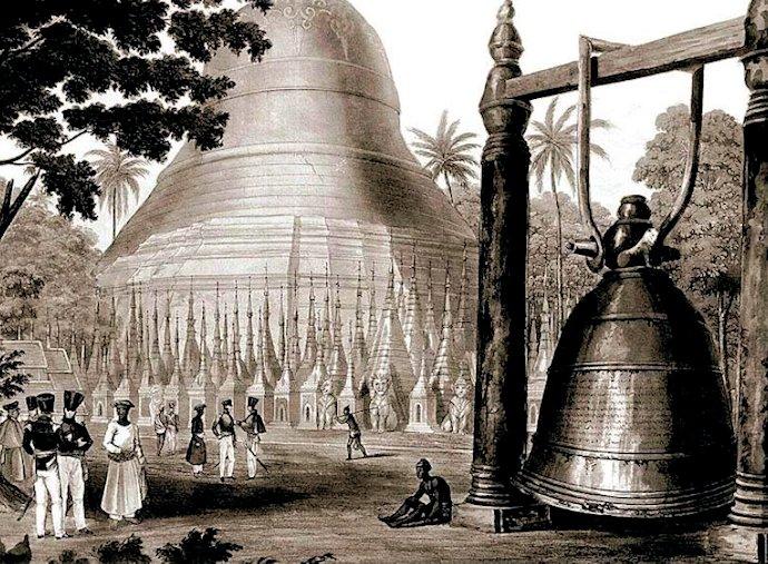 「ダマゼディの大鐘(Great Bell of Dhammazedi)」 15世紀末にビルマ(ミャンマー)で造られた世界一重たい鐘