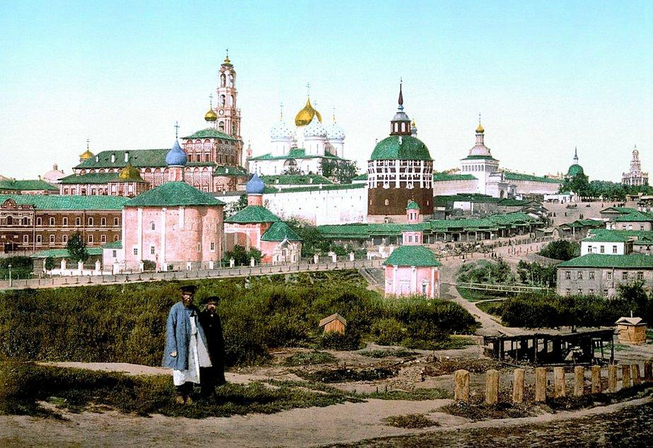 トロイツェ・セルギエフ大修道院(Троице-Сергиева Лавра) 昔の写真